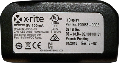 X-Rite i1 Measurement Solutions Order Form (i1Display PRO